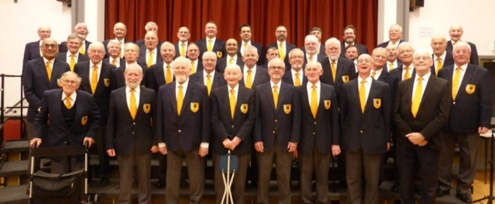 Wadebridge Male Voice Choir, Cornwall.